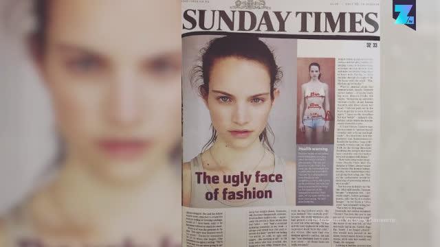 巴黎时装周禁止过瘦模特登台,曾有模特一天只吃三个苹果