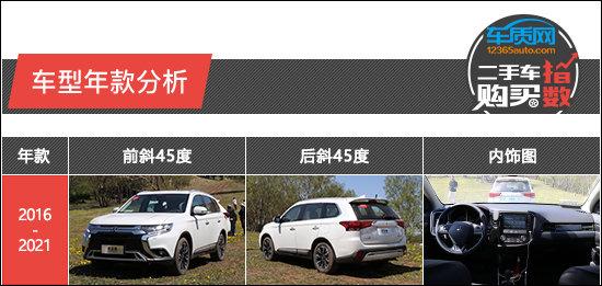 二手車購買指數:廣汽三菱歐藍德-圖2