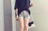优雅小甜美风格的短裤让甜美优雅轻松升级