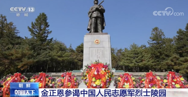 金正恩參謁中國人民志願軍烈士陵園-圖6