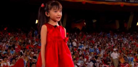 林妙可當年何止奧運假唱, 12歲就玩性暗示被辱罵, 21歲反倒變清純-圖1