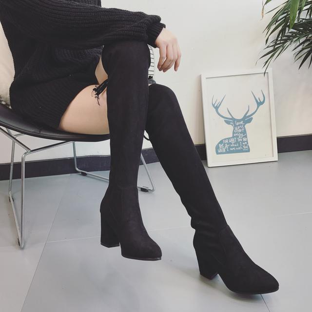 今年流行的这6双长靴穿出高挑细腿长, 女神修腿利器 9
