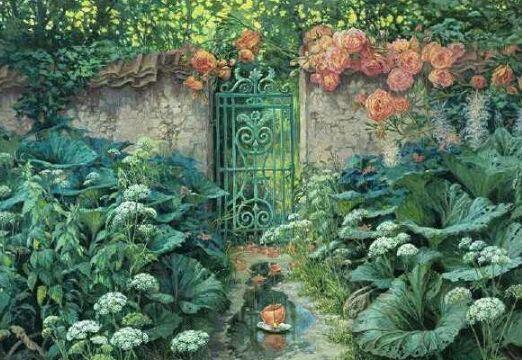 心理測試: 你最想要哪個後花園? 測你的財運有多旺?-圖1