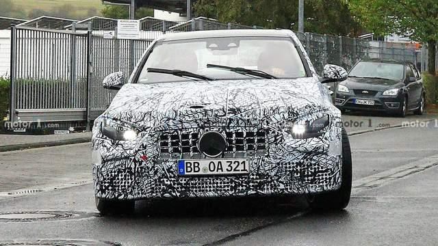 全新奔馳C級即將發佈, 內飾比肩S級, C63車型將換四缸發動機-圖16