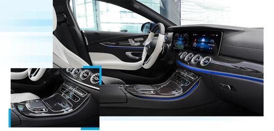 新一代梅賽德斯-奔馳CLS四門轎跑車全球首發-圖6