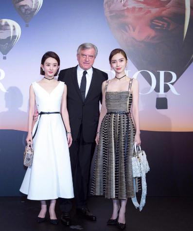 赵丽颖真的是穿衣黑洞? 代言Dior被喷, 与Baby同框被吊打! 2