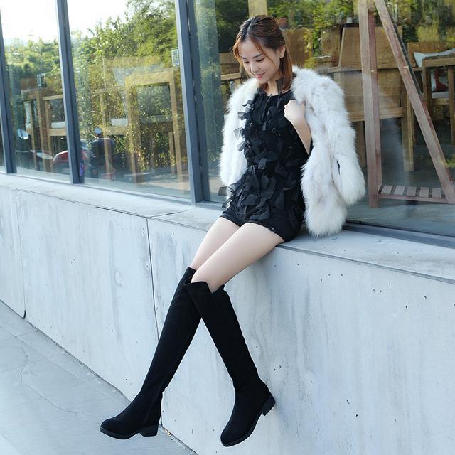 今年流行的这6双长靴穿出高挑细腿长, 女神修腿利器 8