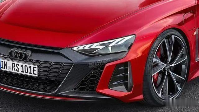 3秒內破百, 奧迪e-tron GT RS將與保時捷Taycan采用同平臺打造-圖8