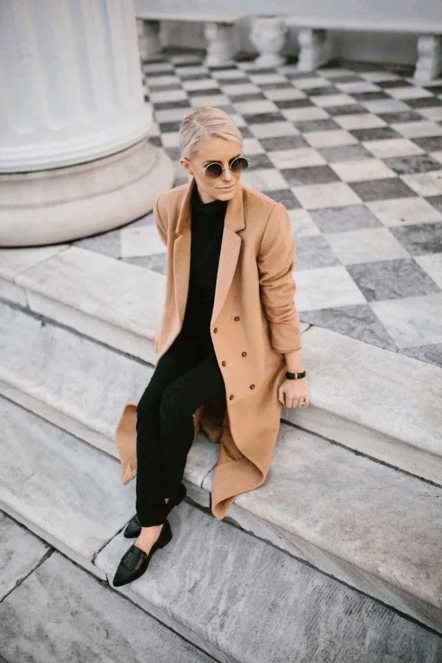 今年冬天穿这显贵的颜色, 保暖又时髦的大衣 9