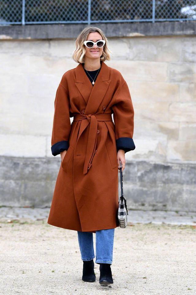 小个子穿对了大衣照样看起来170+, 你更喜欢哪一个LOOK? 4