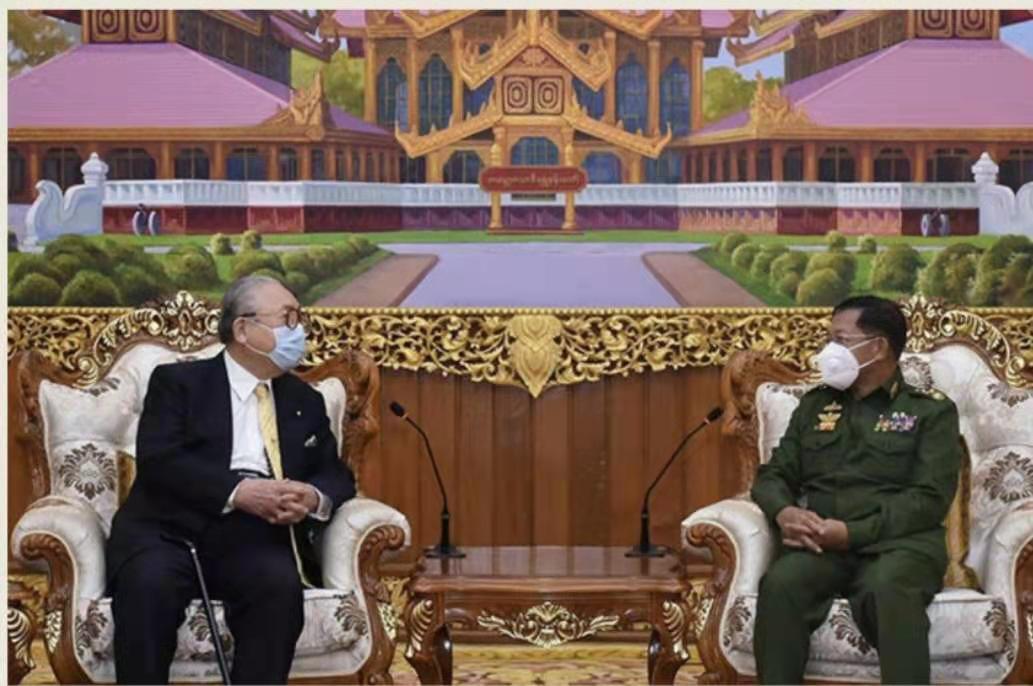 日本擬暫停對緬甸政府開發援助新項目-圖1