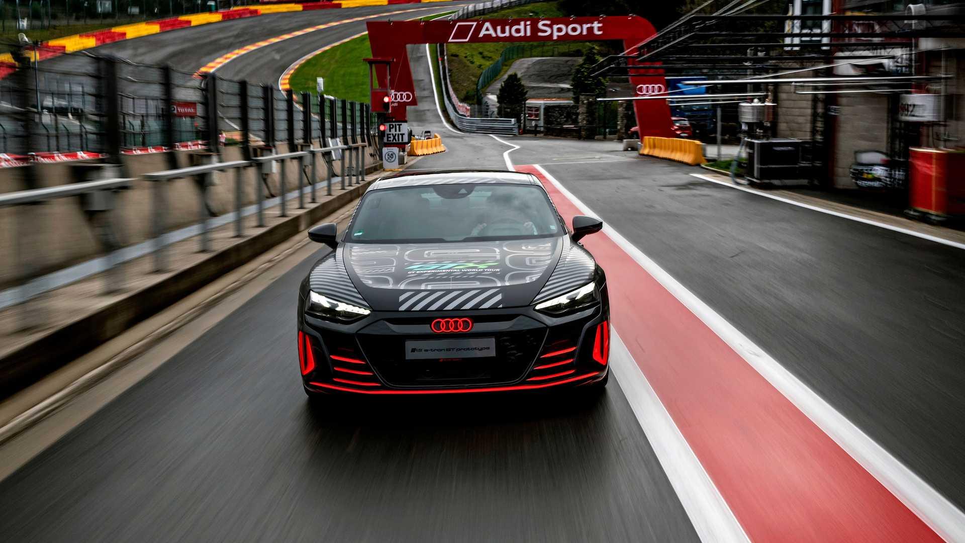 搭載三電機 奧迪RS e-tron GT原型車亮相比利時-圖2