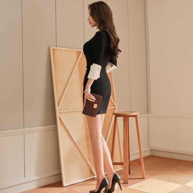 减龄包臀裙, 陶醉其中 5