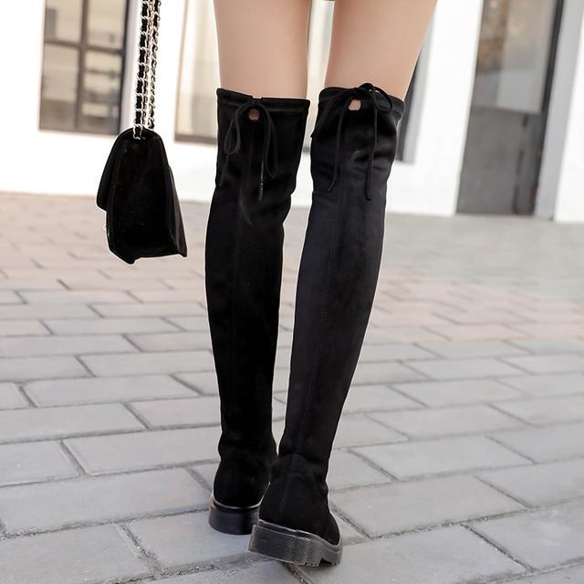 今年流行的这6双长靴穿出高挑细腿长, 女神修腿利器 4