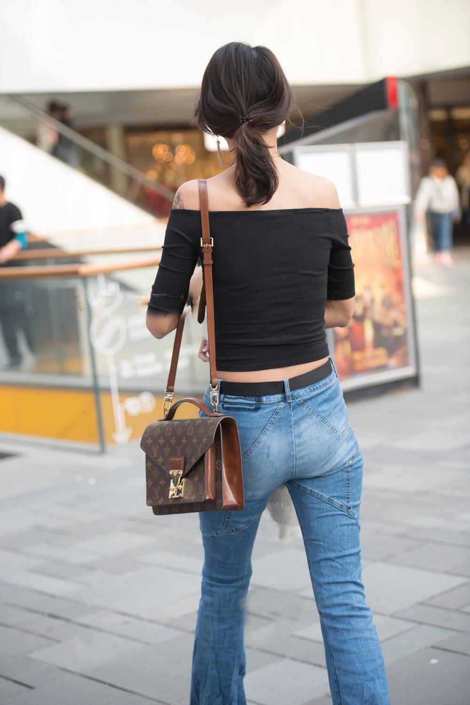 牛仔紧身裤, 穿出女神飞一般的气质 4