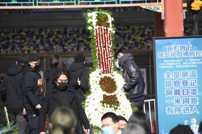 趙英俊告別儀式在京舉行 黃渤薛之謙喬杉等人前往-圖1
