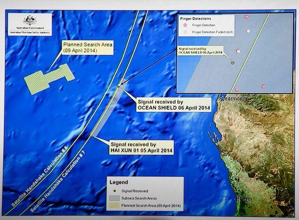 重大突破: 失蹤的馬來西亞航空公司MH370航班可能墜毀的地點-圖2