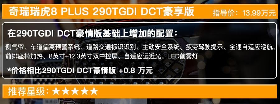 奇瑞瑞虎8 PLUS售12.49萬起, 搭1.6T發動機的五款車型選哪款最值?-圖6