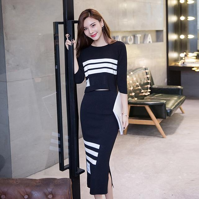 本以为套装裙就已经够惊艳了, 但是小香风连衣裙更有气质!