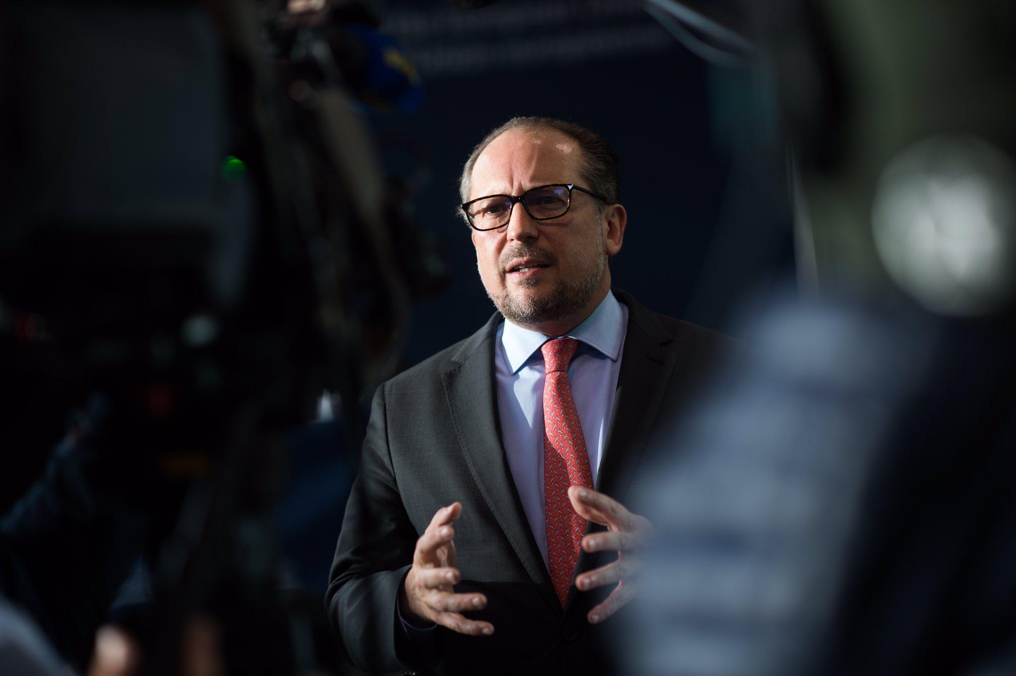 奧地利外長新冠陽性, 曾參加歐盟外長會議-圖1