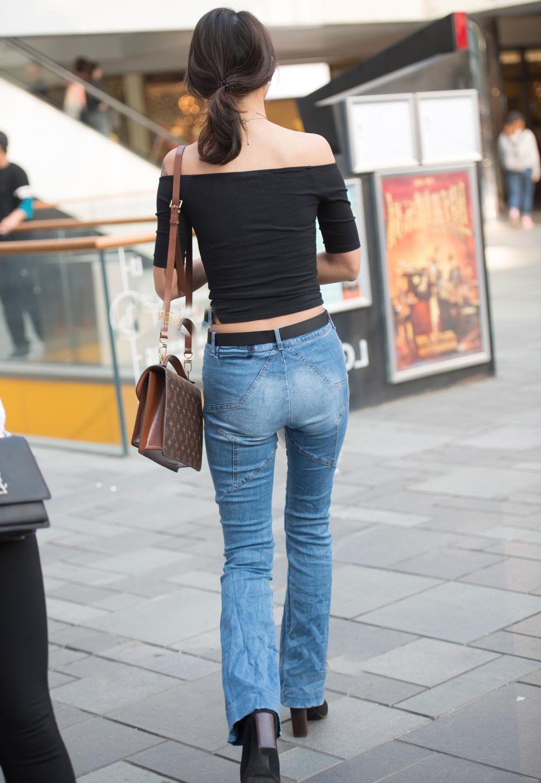 牛仔紧身裤, 穿出女神飞一般的气质 2