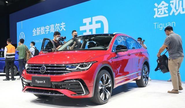 大眾途觀X采用溜背設計, 車型定位於中型SUV, 搭載2.0T排量-圖1