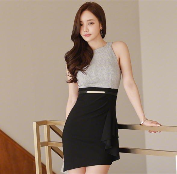 职业短裙被女神这么穿搭, 高端优雅而不是妖艳 1