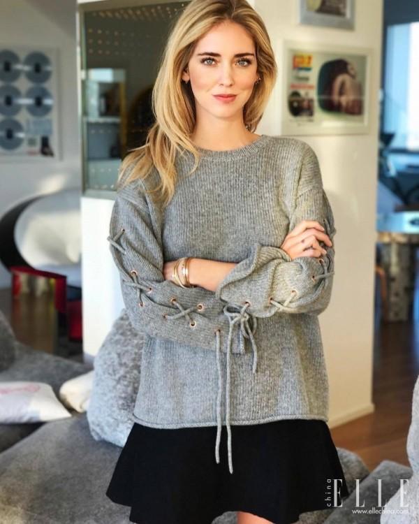 网红鼻祖Chiara Ferragni宣布怀孕, 好像从此怀孕都变时髦起来了! 16