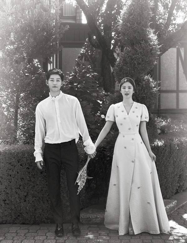 宋慧乔嫁给了爱情最好的样子, 也穿出了最美的模样 1