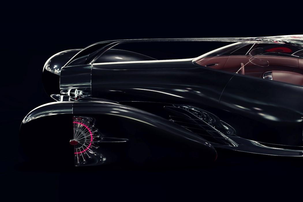 佈加迪發佈Next-57概念轎車, 采用純電驅動, 外形蒸汽朋克范!-圖9