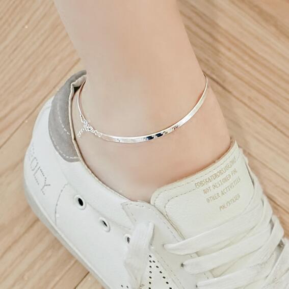 与3-9分裤最搭的不是鞋, 而是脚链, 举手投足尽显优雅