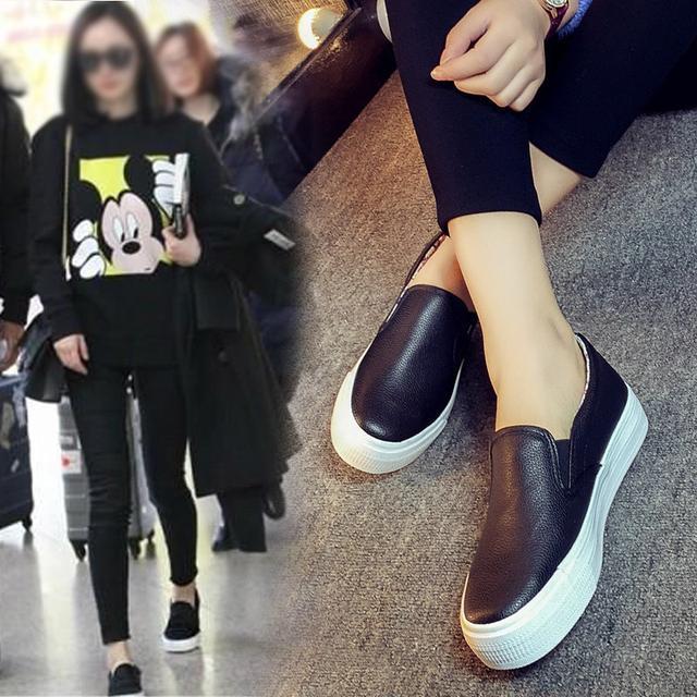 """小白鞋已过时了, 火遍时尚圈的""""一脚蹬"""", 连赵薇、杨幂都在穿 4"""