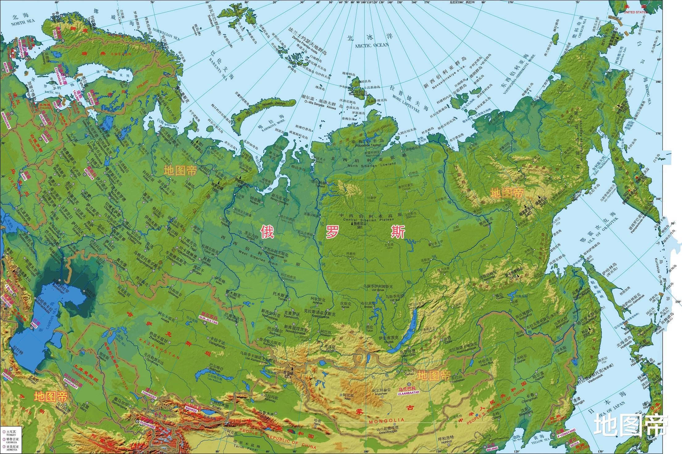 美國東西平衡發展, 俄羅斯為何不搞東部大開發?-圖5