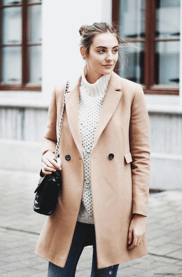 今年冬天穿这显贵的颜色, 保暖又时髦的大衣 14