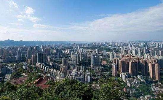 重庆市人均可支配收入最高的5个县区: 第5是沙坪坝区, 第1是渝中区