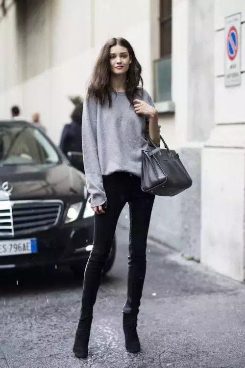 今年秋冬流行不露腿! 有这3条裤子才时髦! 11