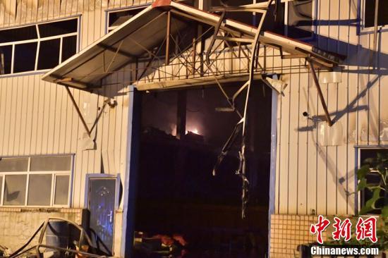 長春一物流倉庫發生火災 已致14人死亡12人重傷-圖1