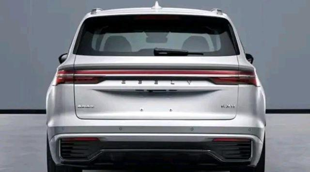 """吉利""""星越L""""實車曝光, 比CRV豪華, 軸距超途觀L, 或15萬就能買-圖4"""