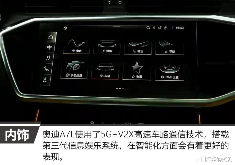 行政傢轎也能玩運動 車展實拍上汽奧迪A7L-圖13