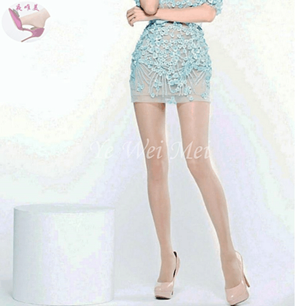 丝袜短裙高跟鞋内心的美丽燥动, 风情万种秀长腿 4
