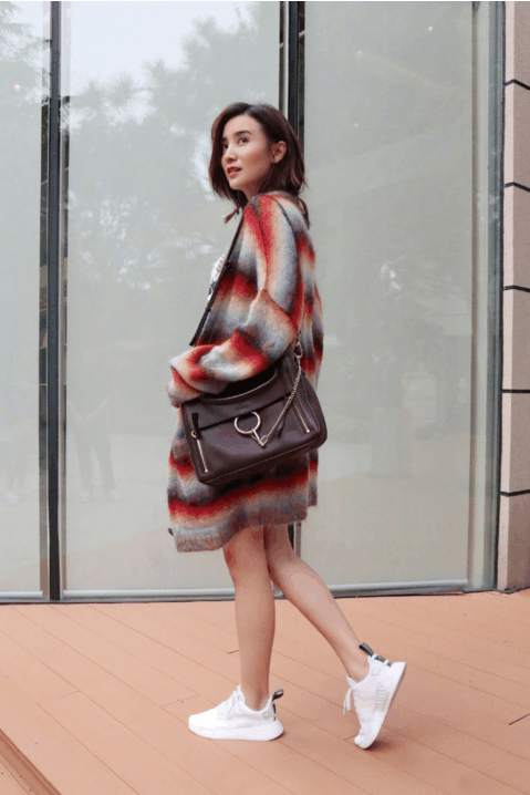 温暖针织外套 五彩斑斓的样子让这个季节不在寒冷 7