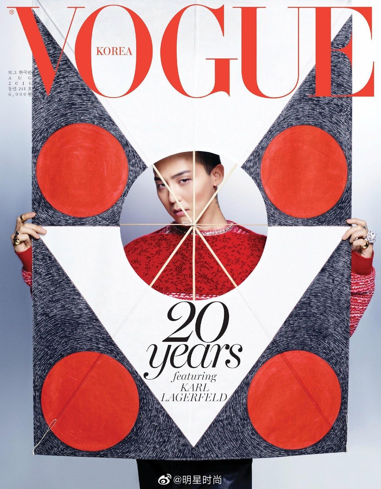 權志龍 登上VOGUE 韓版11月刊封面 , 這是屬於GD的「唯一無二」-圖5