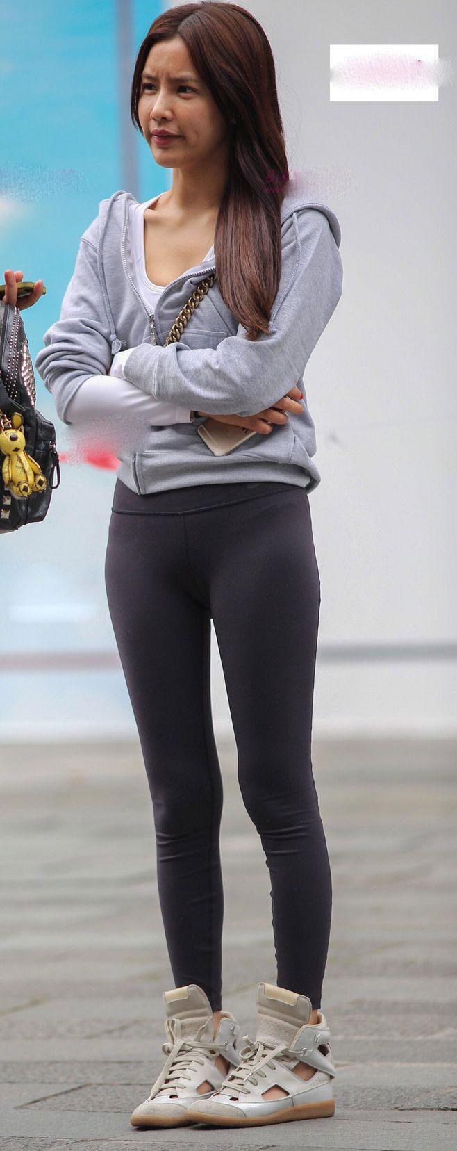 紧身裤十足街头风范, 别出心裁, 散发青春气息 5