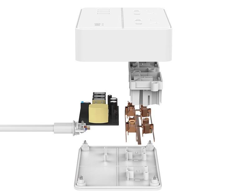 数码办公必备智能小方盒--网易智能插线板