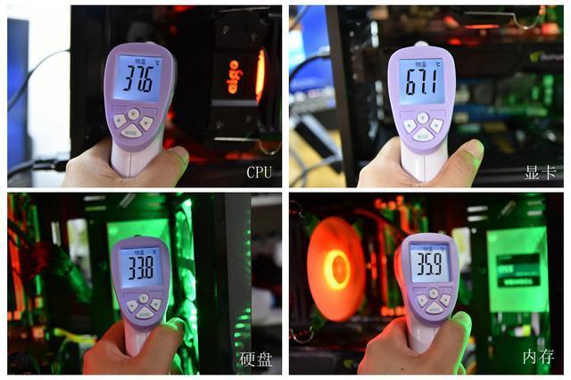 整机散热美学, 爱国者冰魄K4 cpu散热器冰光版评测