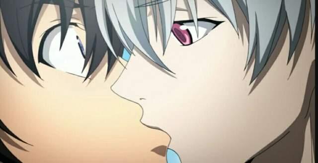 动画《男男♂接吻集》交换唾液的声音听了好害羞