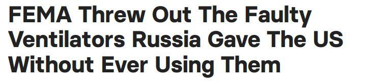 未經使用 美國直接丟棄俄羅斯呼吸機-圖1