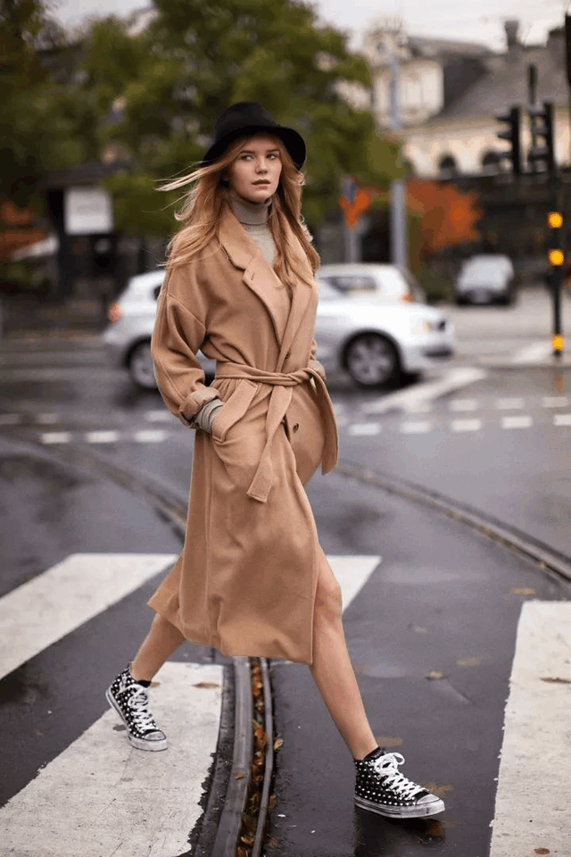 今年冬天穿这显贵的颜色, 保暖又时髦的大衣 24