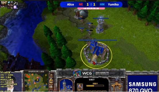 《魔獸爭霸3》WCG戰報, 劍走偏鋒的奇招, 盲目推進的慘敗-圖1