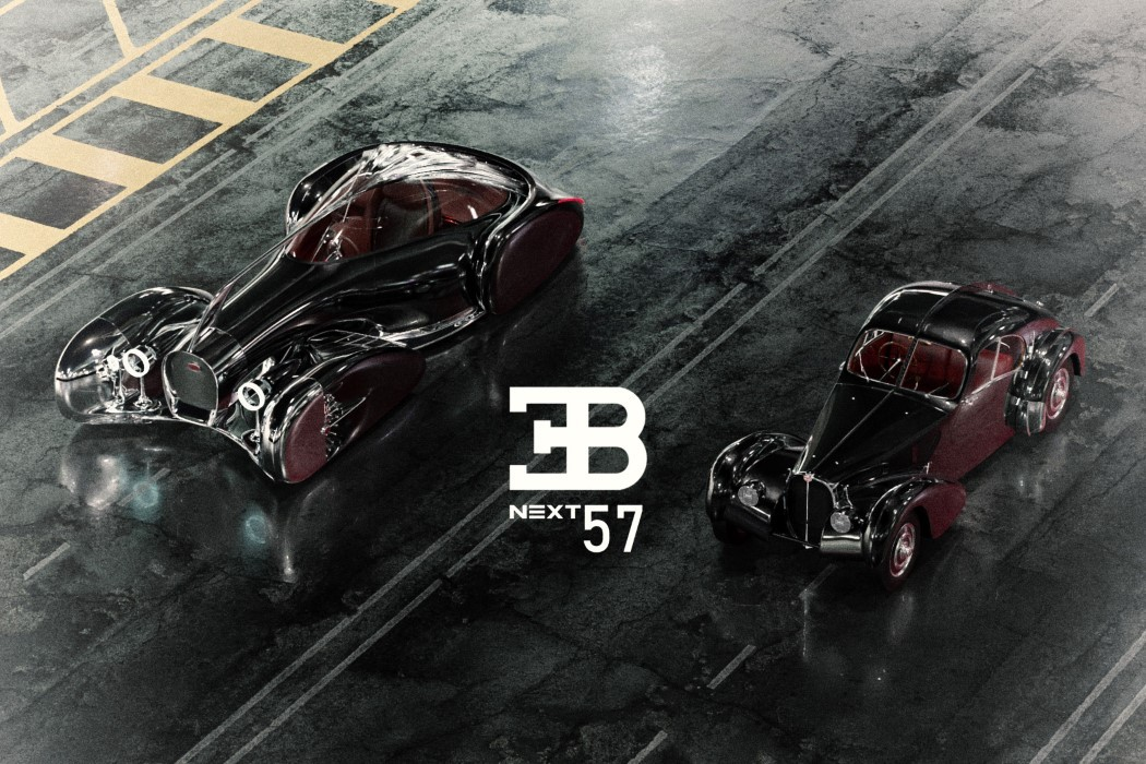 佈加迪發佈Next-57概念轎車, 采用純電驅動, 外形蒸汽朋克范!-圖2